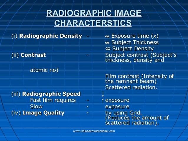 Radiology in orthodontics dr.kavitha /certified fixed ...