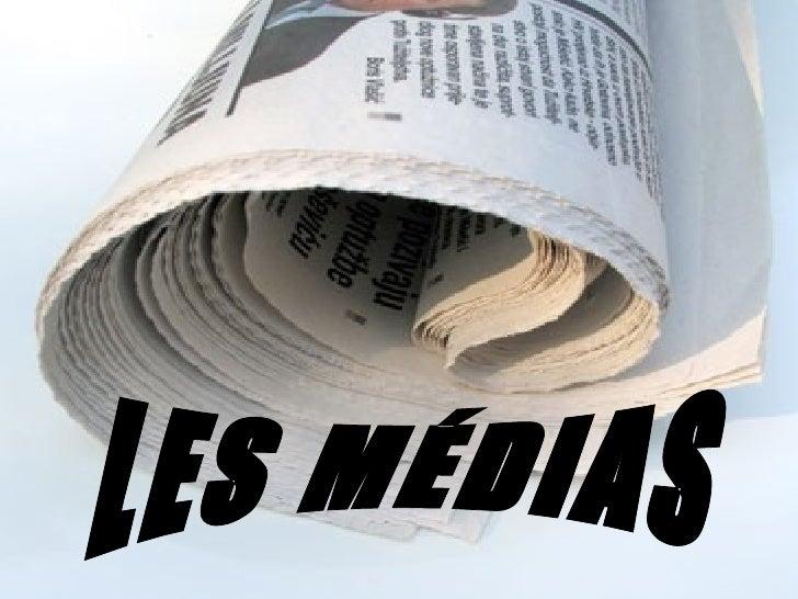 Les médias sont très importants dans notre voie quotidienne. Je crois que, réellement, ils ont réussi à changer nos vies c...