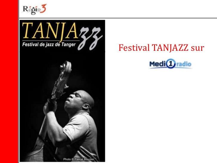 Festival TANJAZZ sur