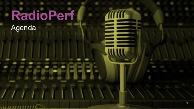 17 RadioPerf Agenda