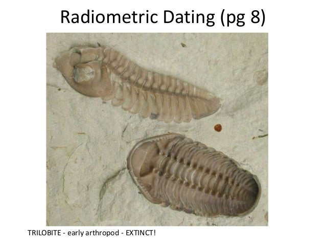 radiometric dating fossils