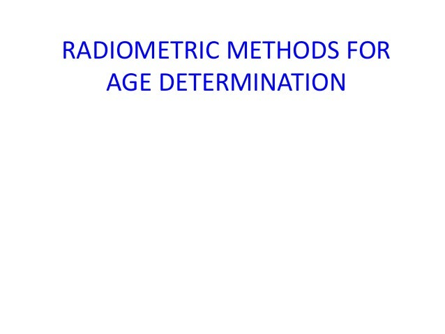Who invented radiometric dating techniques