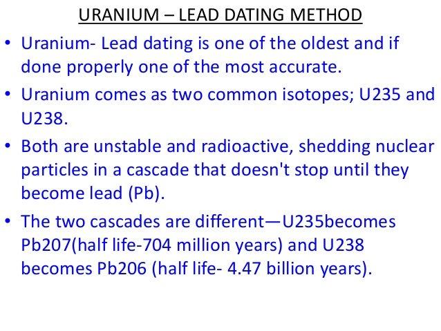 U PB radiometrisk dating