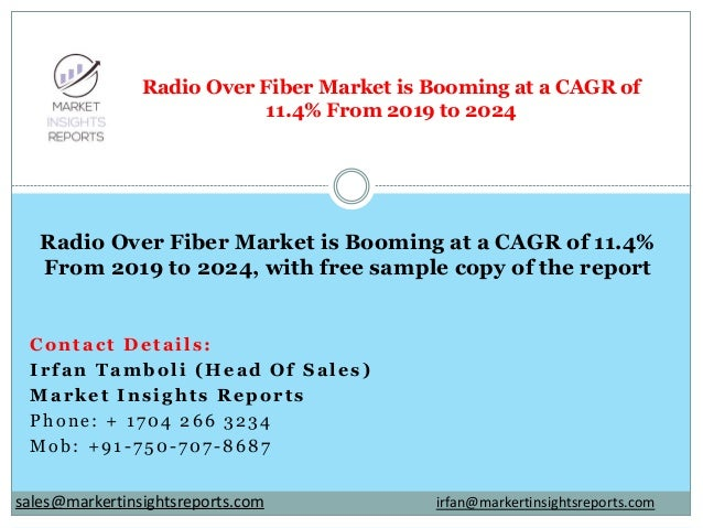 Contact Details: Irfan Tamboli (Head Of Sales) Market Insights Reports Phone: + 1704 266 3234 Mob: +91-750-707-8687 Radio ...