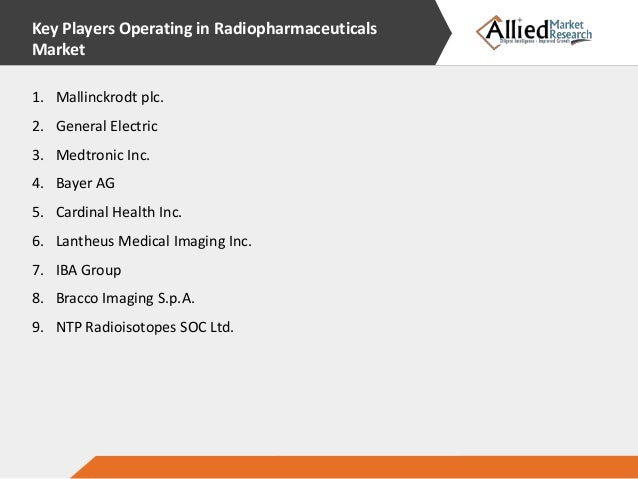 nuclear medicine radiopharmaceutical market is The nuclear medicine/radiopharmaceuticals global market is a highly competitive market and all the existing players in this market are involved in developing new and advanced products to maintain.