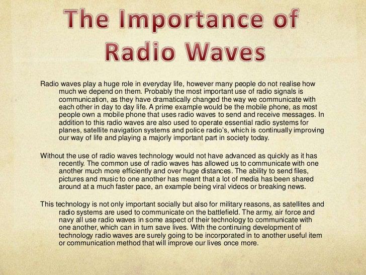 Radio Waves Presentation
