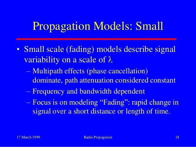 Propagation Losses