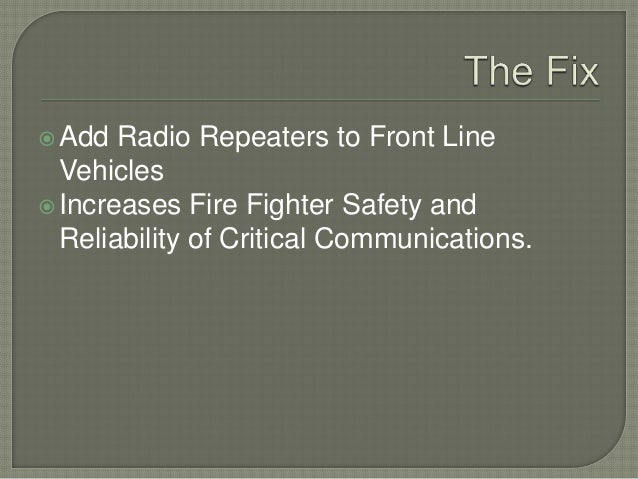 Radio Repeater Presentation