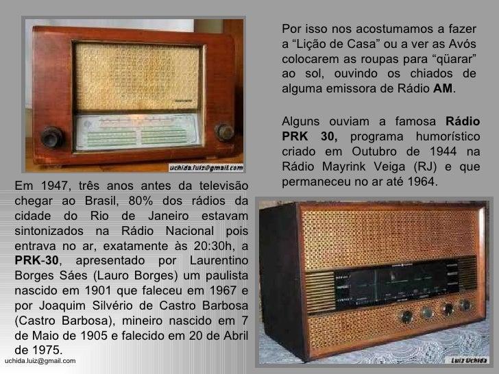 Radios dos Anos 70 Slide 3