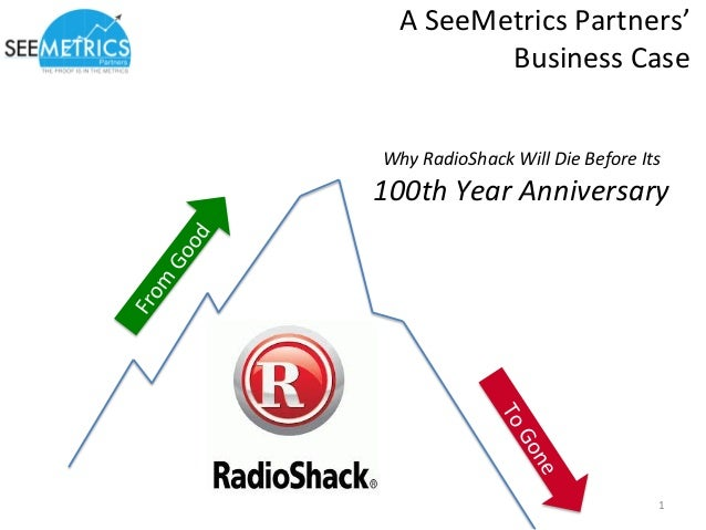 A  SeeMetrics  Partners'  Business  Case  Why  RadioShack  Will  Die  Before  Its  100th  Year  Anniversary  1