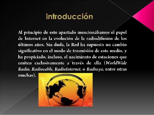 Radios online Slide 2