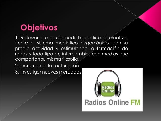 Radios online Slide 3