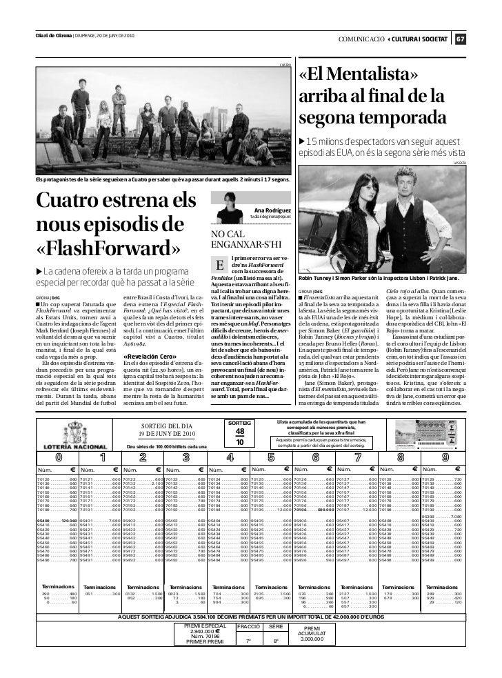 Diari de Girona | DIUMENGE, 20 DE JUNY DE 2010                                                                            ...