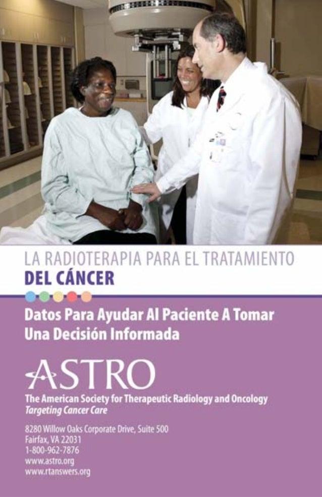 ÍNDICE  ÍNDICE Introducción 2 Radioterapia y Cáncer 3 Cómo Funciona La Radioterapia 3 Tipos de Radiación 4 Radioterapia de...