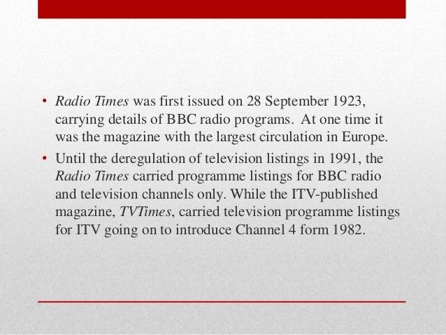 radiotimes tv listings