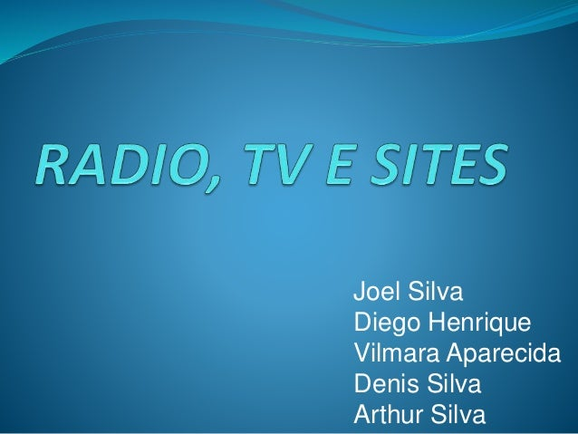 Joel Silva  Diego Henrique  Vilmara Aparecida  Denis Silva  Arthur Silva