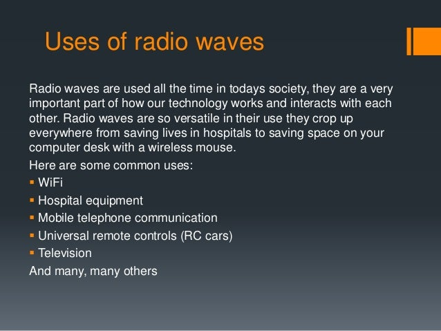 Uses of sonar waves in our daily life