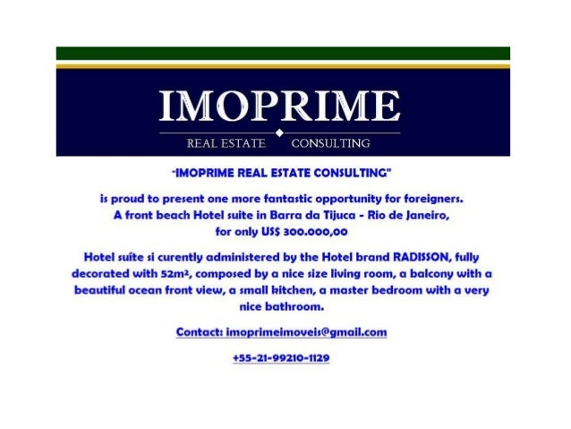 "IMORRIME  REAL ESTATE CONSULTING     ""IMOPRIME REAL ESTATE CONSULTING""  is proud to present one more fantastic opportunity..."