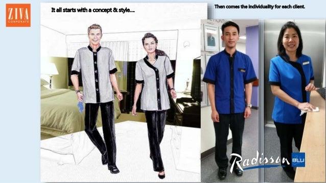 Radisson blu plaza hotel new housekeeping uniform for Hotel design jersey