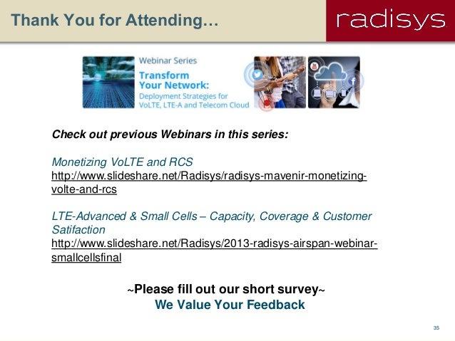 Radisys/Wind River: The Telcom Cloud - Deployment Strategies
