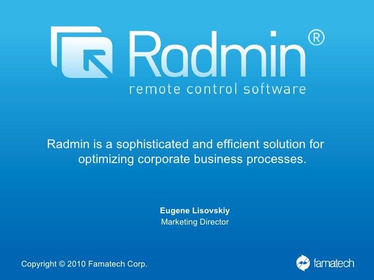 license code radmin server 3.4