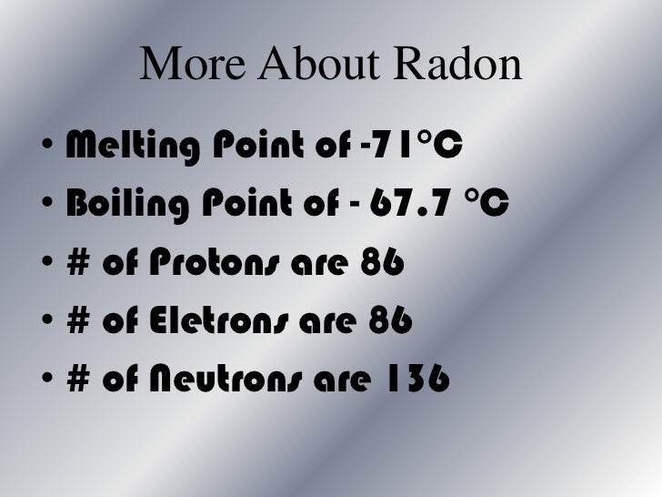 characteristics of radon Radon: characteristi | the dose conversion factor (dcf) which gives the relationship between effective dose and potential alpha energy concentration of inhaled.