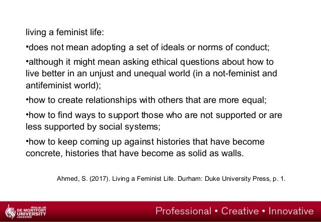 ahmed living a feminist life pdf
