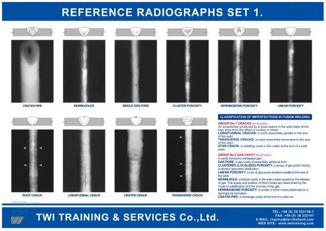 radiographic interpretation welding defects pdf