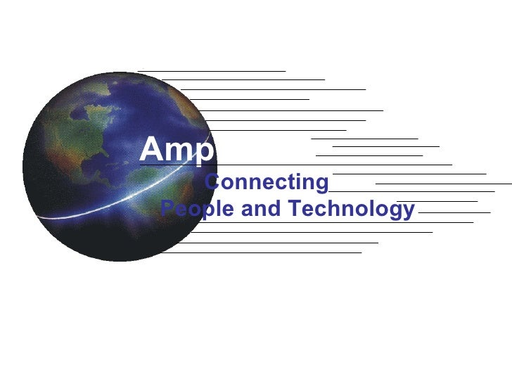 Connecting    People and Technology Amphenol