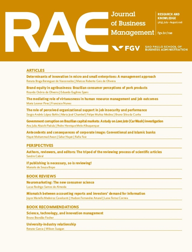 RESEARCH AND KNOWLEDGE 58(4),July–August2018 fgv.br/rae ARTICLES Determinants of innovation in micro and small enterprises...
