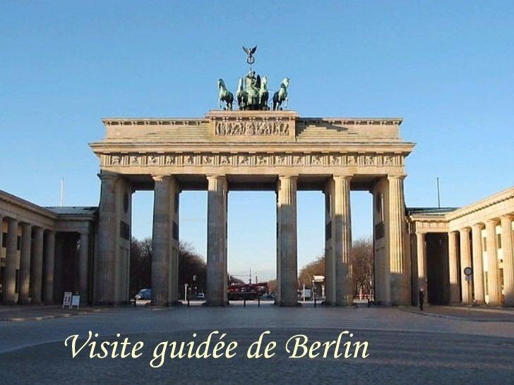Visite guidée de Berlin
