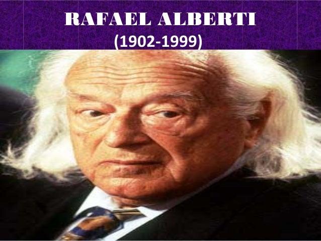 RAFAEL ALBERTI  (1902-1999)  (1902-1999)  (1902-1999)