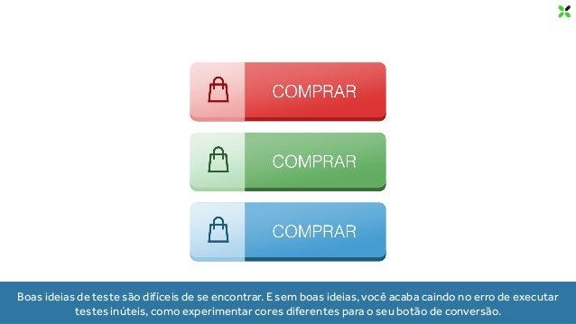 IDEIAS DE TESTES A/B PARA E-COMMERCES 11