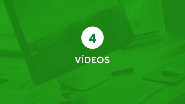 Os compradores ficam 64% mais dispostos a comprar após assistir um vídeo do produto. ComScore