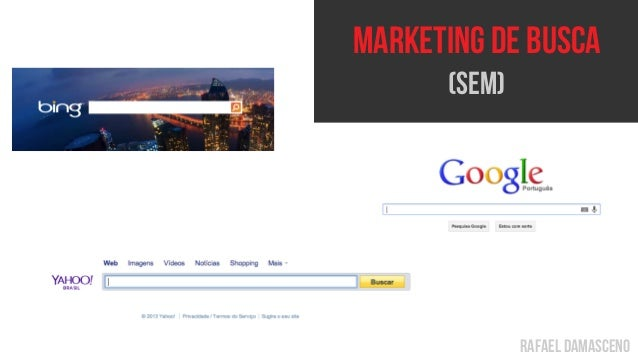 rafael damasceno Marketing de busca (SEM)