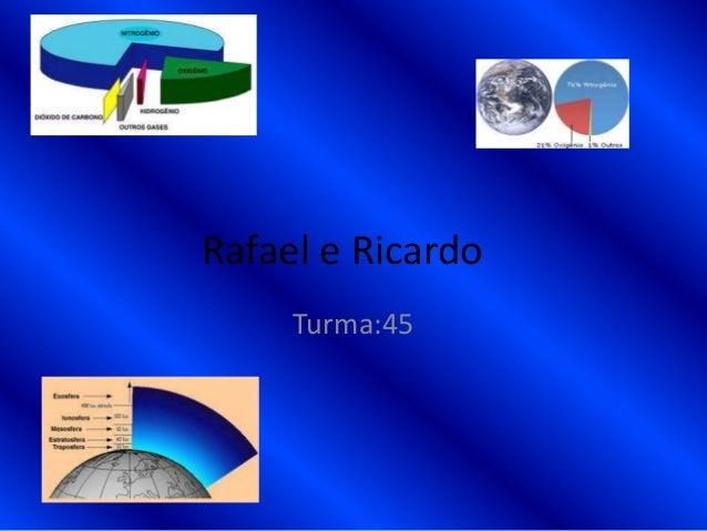 Rafael e RicardoTurma:45