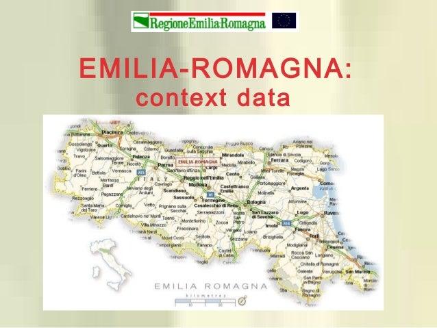 EMILIA-ROMAGNA: context data
