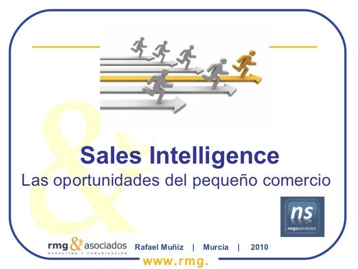 Sales Intelligence Las oportunidades del pequeño comercio Rafael Muñiz  |  Murcia  |  2010