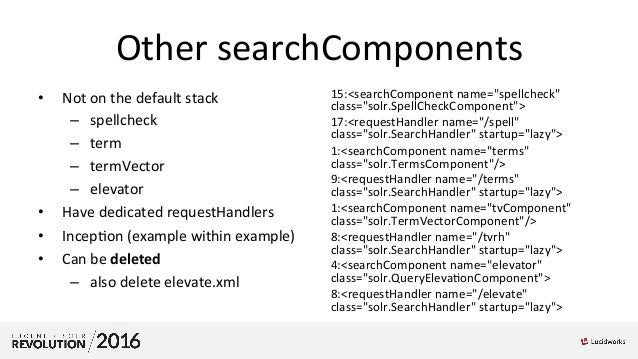 Rebuilding Solr 6 Examples - Layer by Layer: Presented by Alexandre R…