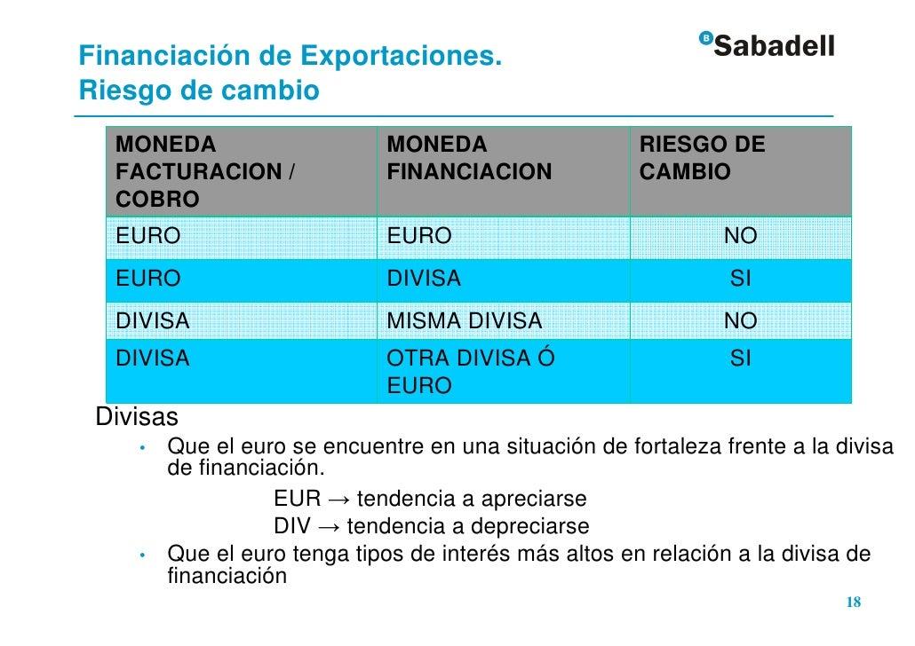 f312c462ff901 En EUROS • En DIVISAS 17 CAMARA DE GIPUZKOA  19. Financiación de  Exportaciones.