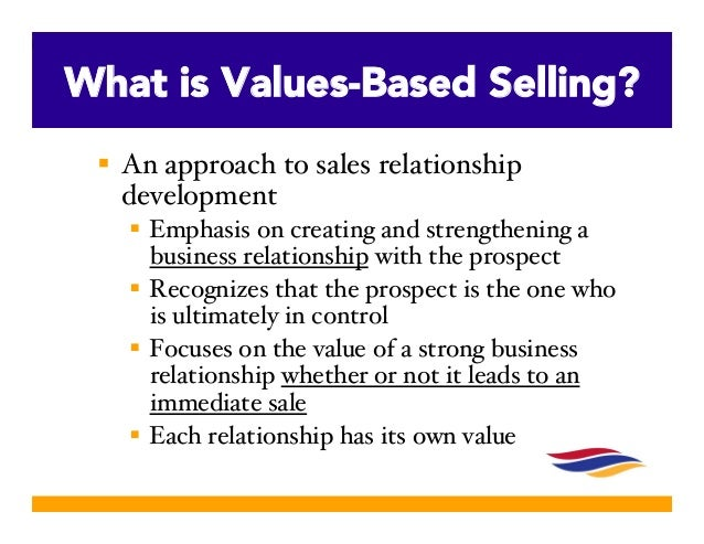 How Values Based Selling Leads You To Your Best Buyers
