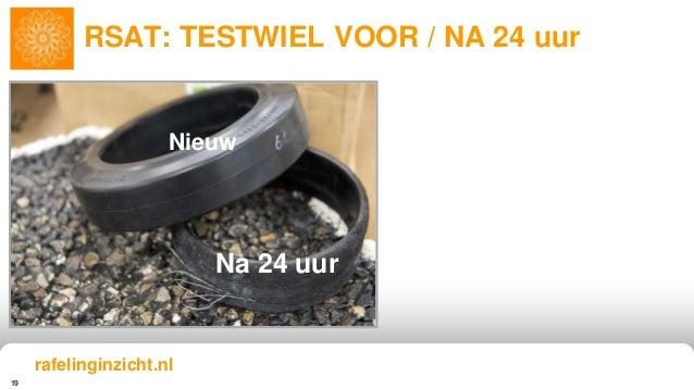 19 RSAT: TESTWIEL VOOR / NA 24 uur Nieuw Na 24 uur rafelinginzicht.nl