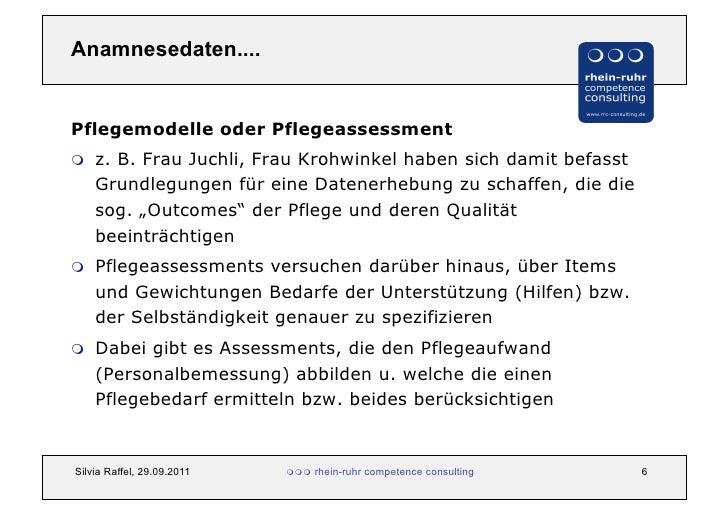 pflegeassessment definition