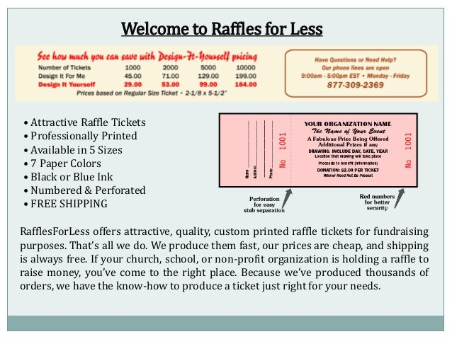 how to sell raffle tickets online