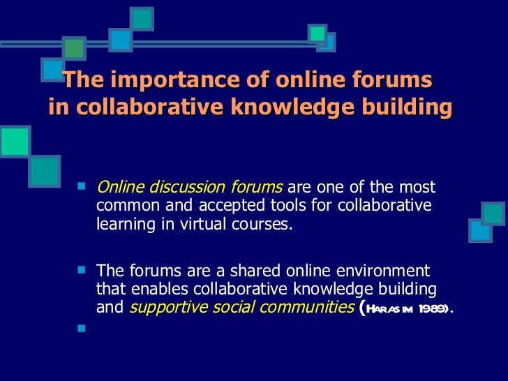 self-assessment rubric for evaluation of online discussion learning