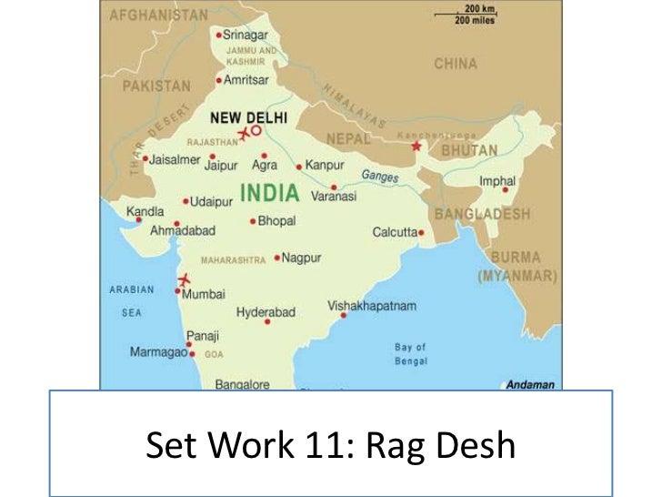 Set Work 11: Rag Desh