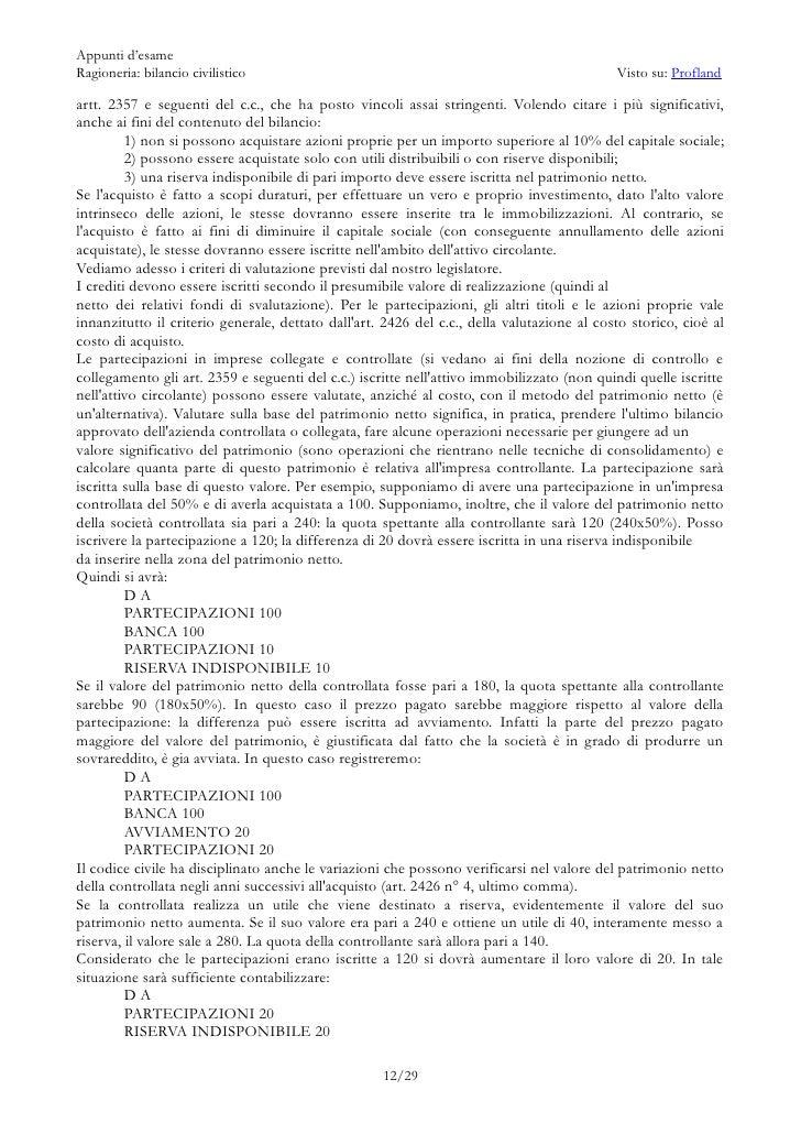 Appunti di ragioneria bilancio civilistico - Crediti diversi in bilancio ...