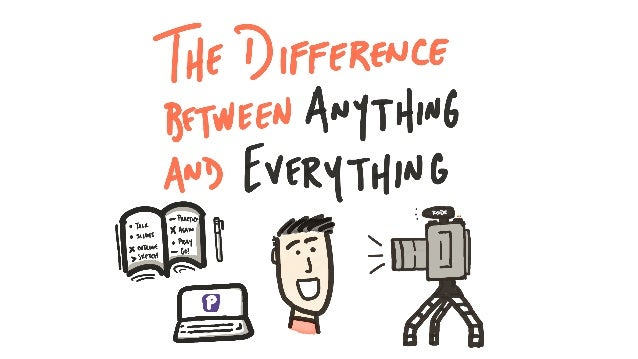 The Difference Between Anything and Everything