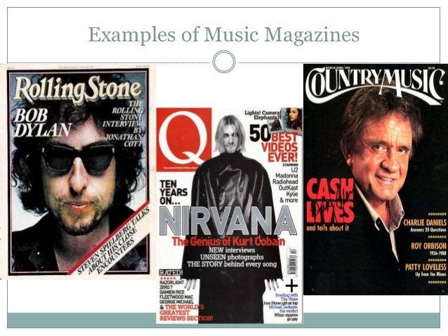 Magazine Genre Research Slide 2