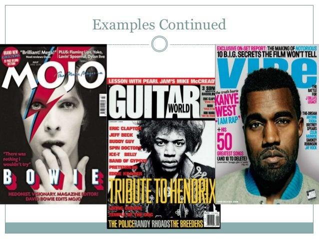 Magazine Genre Research Slide 3